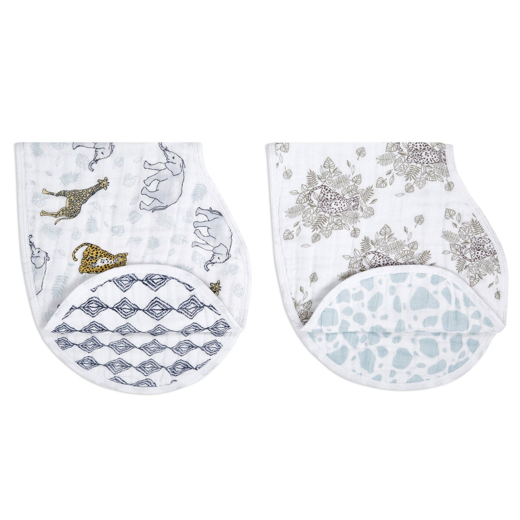 Burpy Bibs (2pack) - Jungle