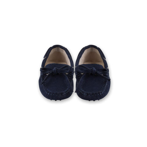 Capri Navy Loafers