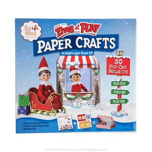 Elves at Play - Paper Craft