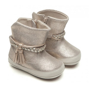 Tip Toey Joey Fairy Light Golden Suede