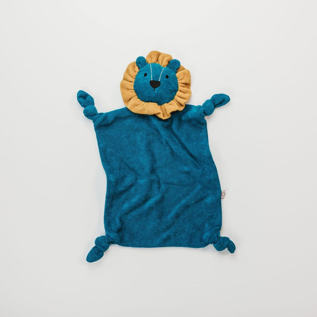 Terry Bamboo Lenny Lion - Electric Blue/Honey Frill
