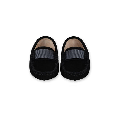 Milan Black Loafers