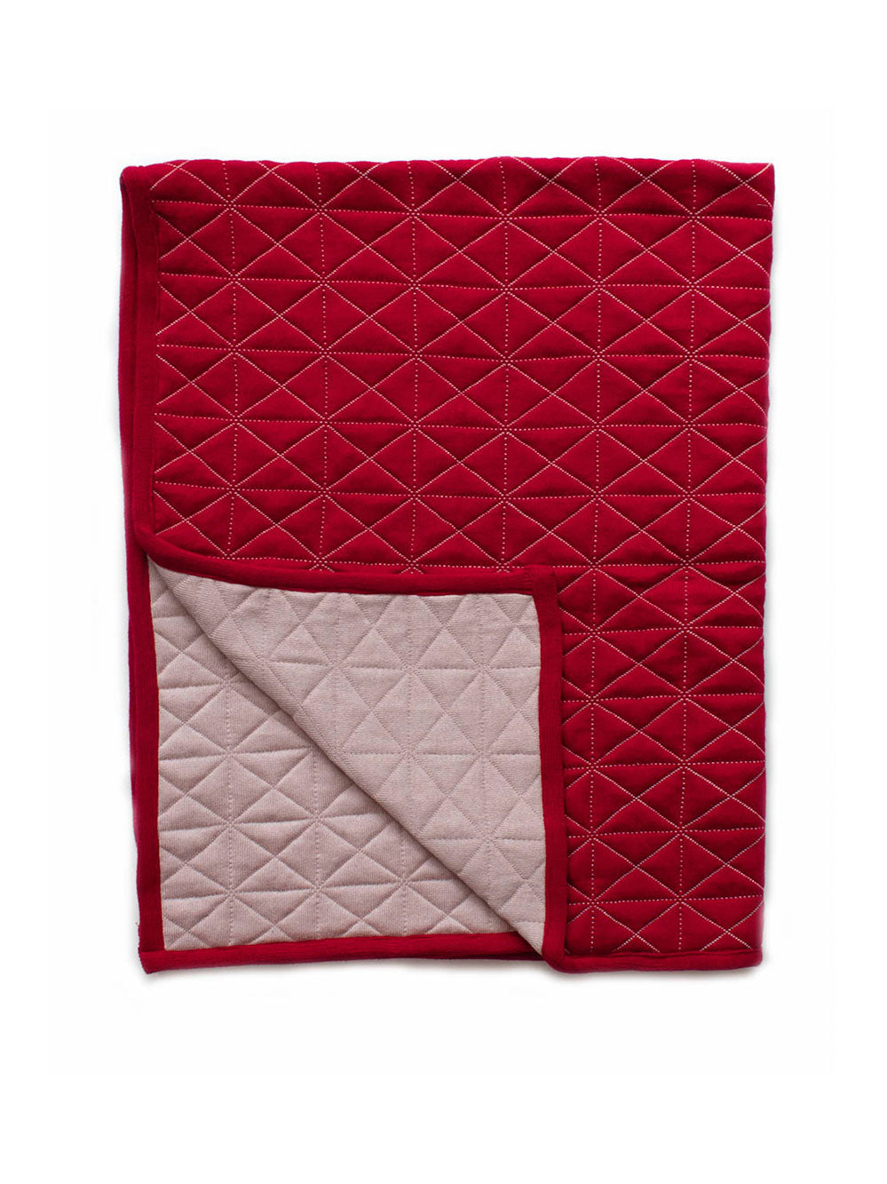 Poppy - Reversible quilted Blanket