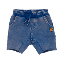 Load image into Gallery viewer, Blue Wash - Baby Smash Shorts