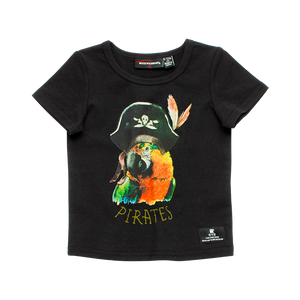 Pirate Parrot  Baby SS T - Shirt