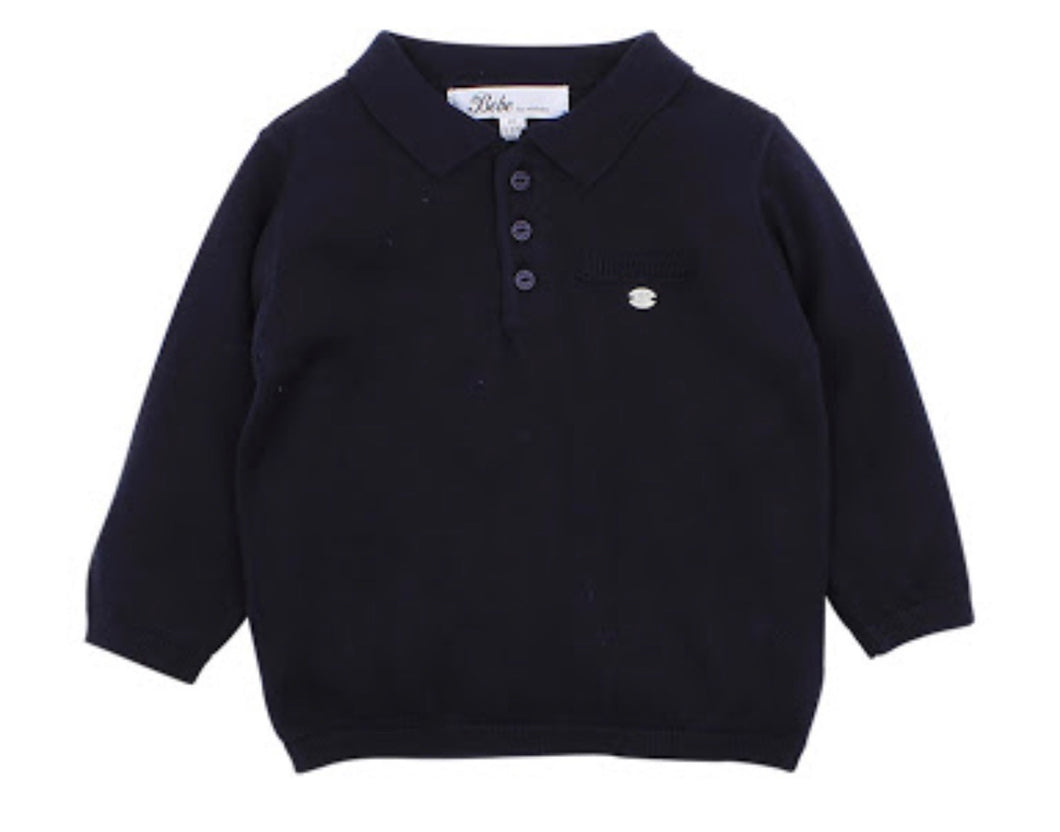 George Knit Polo Top