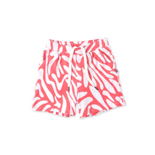 Load image into Gallery viewer, Zebra Striped Shorts - Strawberry Pink