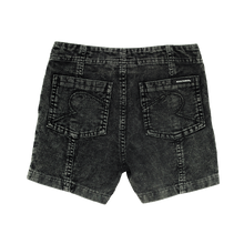 Load image into Gallery viewer, Washed Black Corduroy Shorts