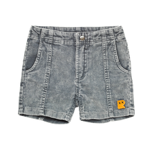 Load image into Gallery viewer, Washed Charcoal Corduroy Shorts