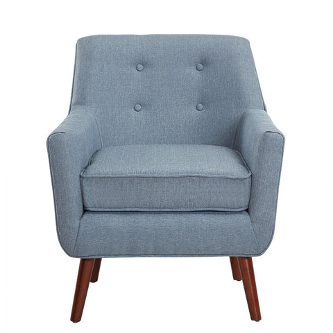 Mlm Accent Chair With Straight Legs - Sofa Culture