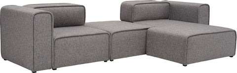 Acura 2 Seater+ Right Chaise - Sofa Culture