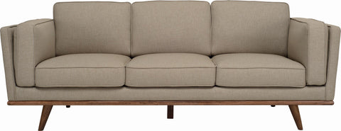Civic 3 Seater Sofa Cocoa/Sandstone - Sofa Culture