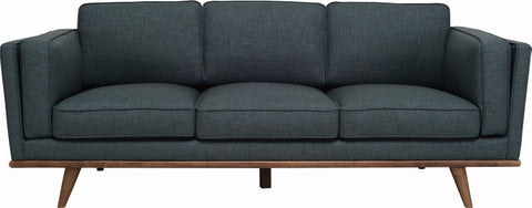 Civic 3 Seater Sofa Cocoa/Space Blue - Sofa Culture