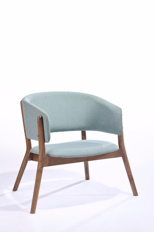 Cora Lounge Chair Wood/Linen