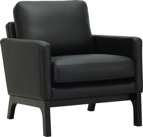 Cove Single Seater Ebony/Espreso - Sofa Culture