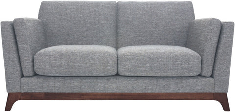 Finn 2 Seater Cocoa/Pebble - Sofa Culture