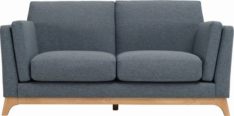 Finn 2 Seater Natural/Whale - Sofa Culture