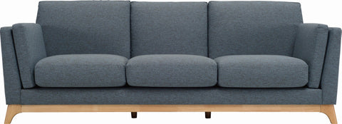Finn 3 Seater Natural/Whale - Sofa Culture