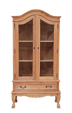 French Display Cabinet 2 Door - Sofa Culture