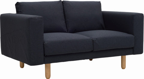 Minex 2 Seater Sofa Natural/Twilight - Sofa Culture