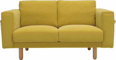 Minex 2 Seater Sofa Natural/Turmeric - Sofa Culture