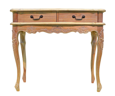 Weathered Oak French Provinicial 2 Console Drawer