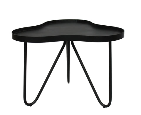 Bondi Waves Side Table Black