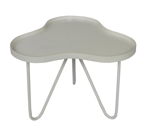 Bondi Waves Side Table White