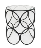 Ring Side Table Black