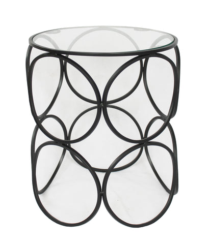 Ring Side Table Black - Sofa Culture