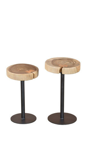 Barello Tables Black 2 Piece