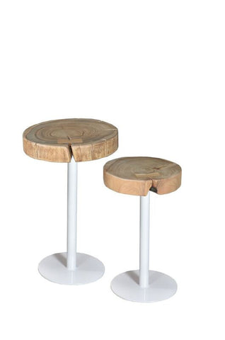 Barello Tables White 2 Piece