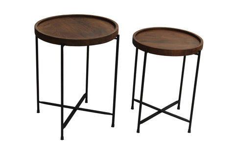 Malawi Tray Tables 2 Piece