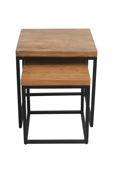 Square Nest Tables 2 Piece