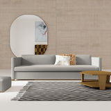 Madison Sofa - Silver Streak Box Weave Linen