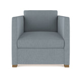 Madison Chair - Haze Box Weave Linen