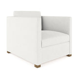 Madison Chair - Blanc Box Weave Linen