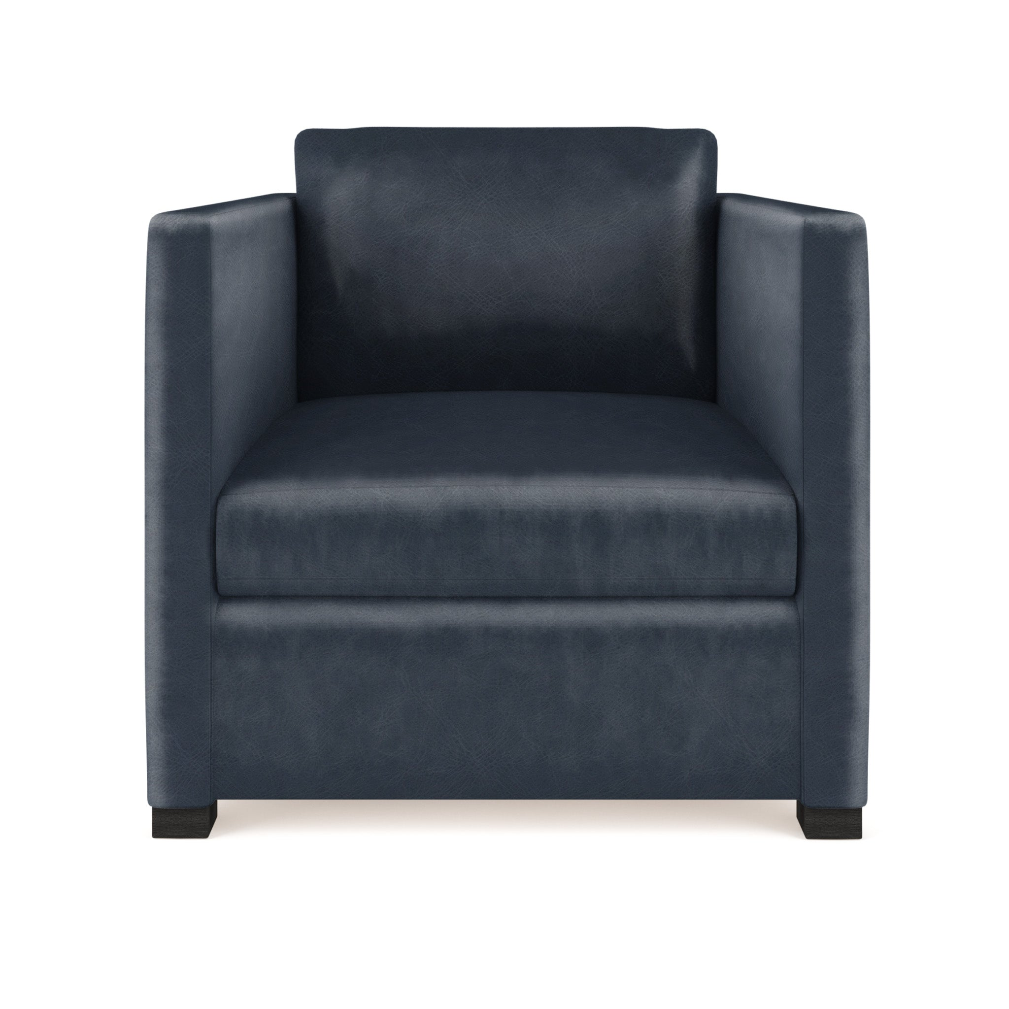 Madison Chair - Blue Print Vintage Leather