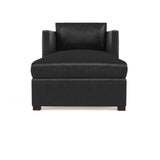Madison Chaise - Black Jack Vintage Leather