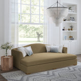 Horatio Daybed - Marzipan Box Weave Linen