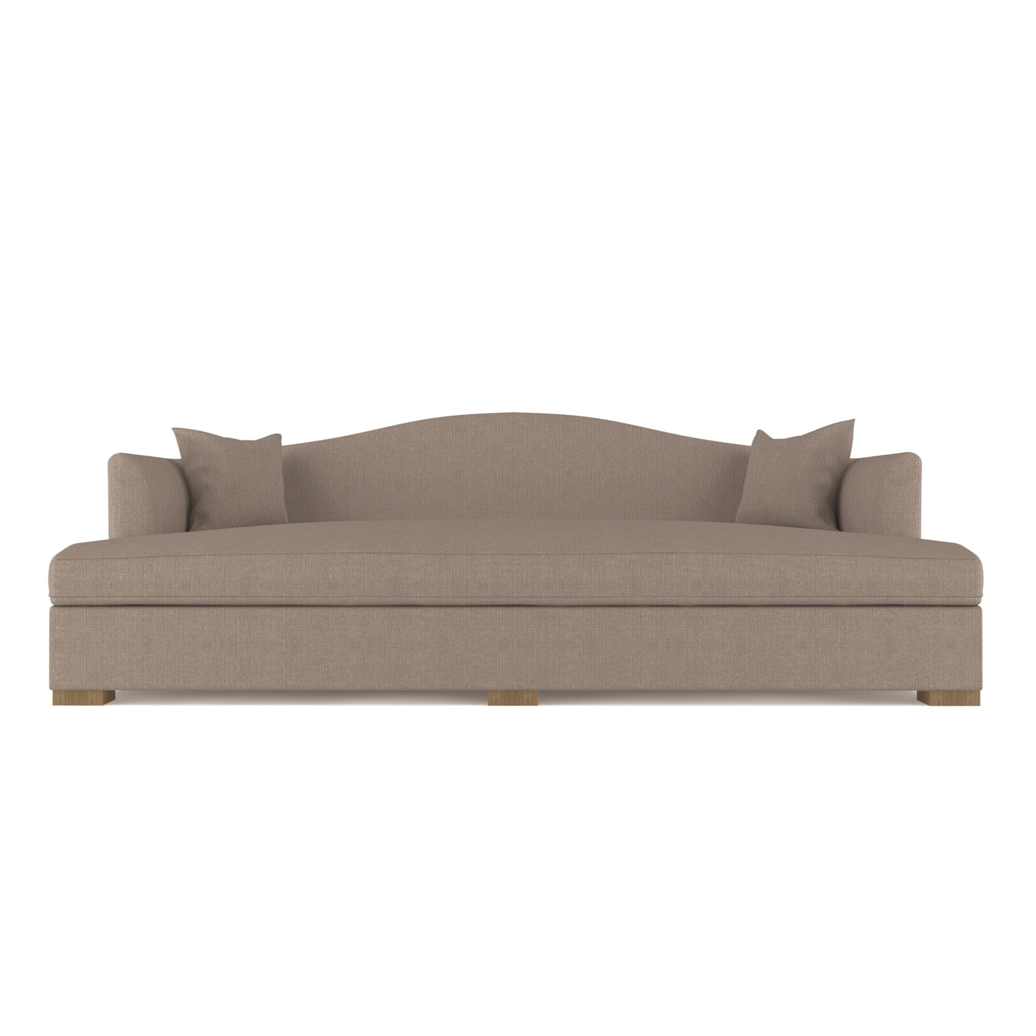 Horatio Daybed - Pumice Box Weave Linen