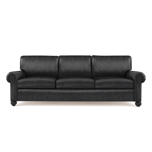 Leroy Sofa - Black Jack Vintage Leather