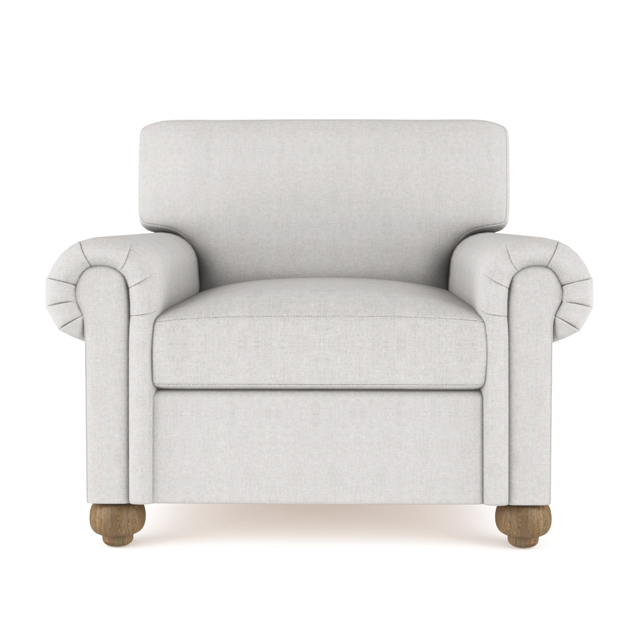 Leroy Chair - Silver Streak Plush Velvet