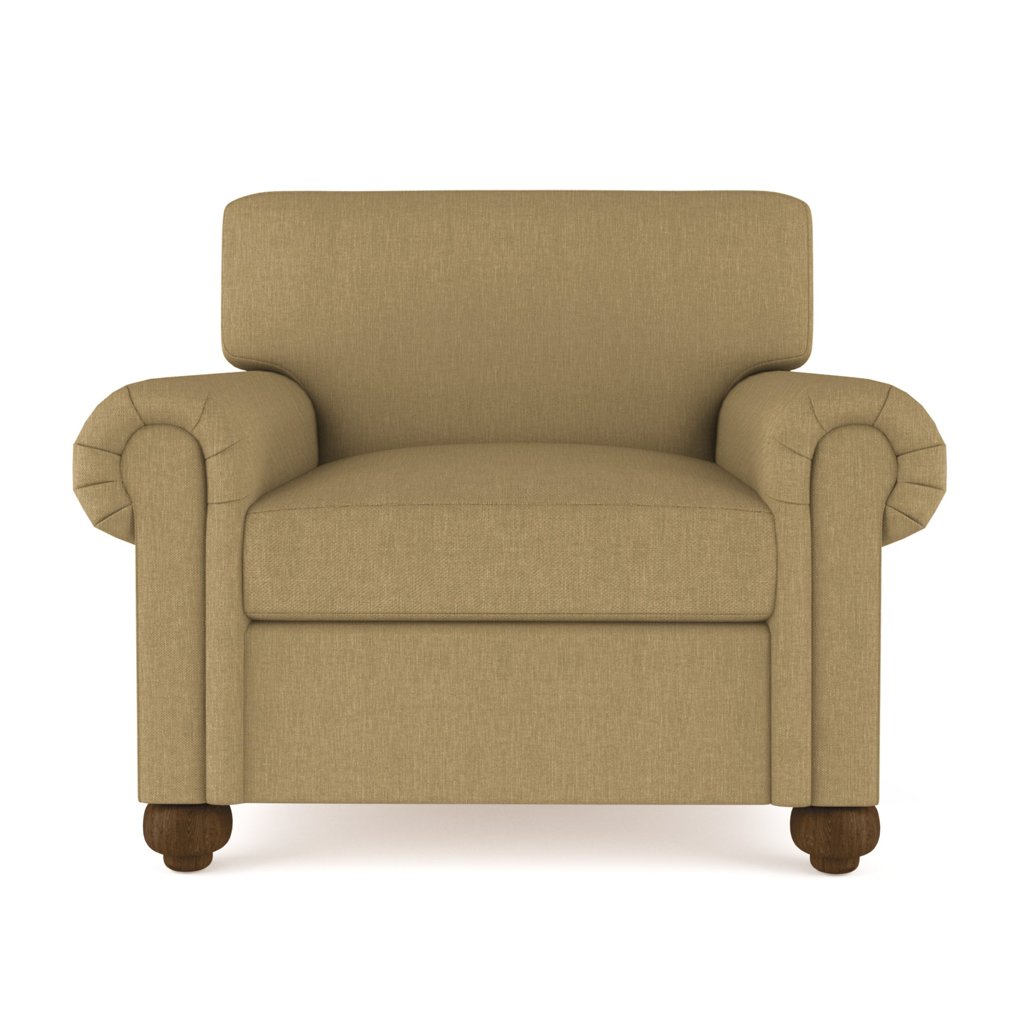 Leroy Chair - Marzipan Box Weave Linen