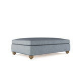 Leroy Table Ottoman - Haze Plush Velvet