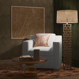 Mercer Chair - Alabaster Box Weave Linen