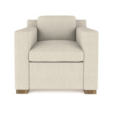 Mercer Chair - Oyster Box Weave Linen