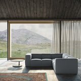 Varick 5-Piece Corner Sectional - Haze Box Weave Linen