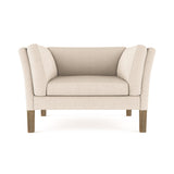 Charlton Chair - Oyster Plush Velvet