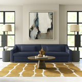 Crosby Sofa - Blue Print Plush Velvet